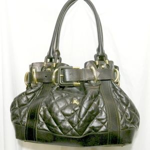 Burberry Prorsum Beaton Large Quilted Leather Bag